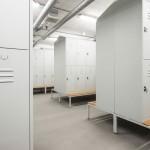 Kleedkamer lockers